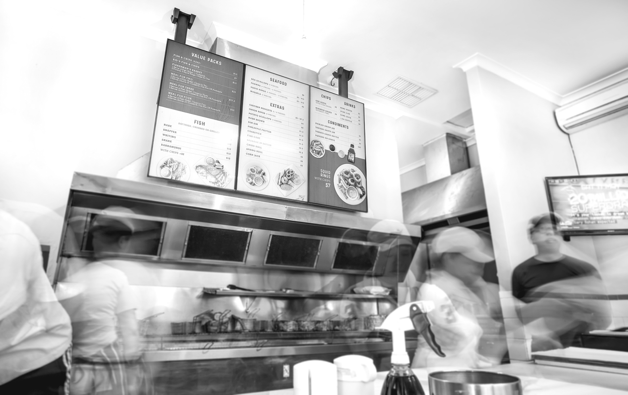 How digital menu boards add value